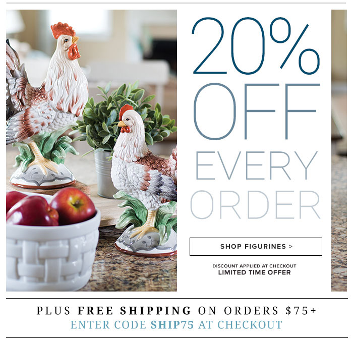 20% Off Every Order