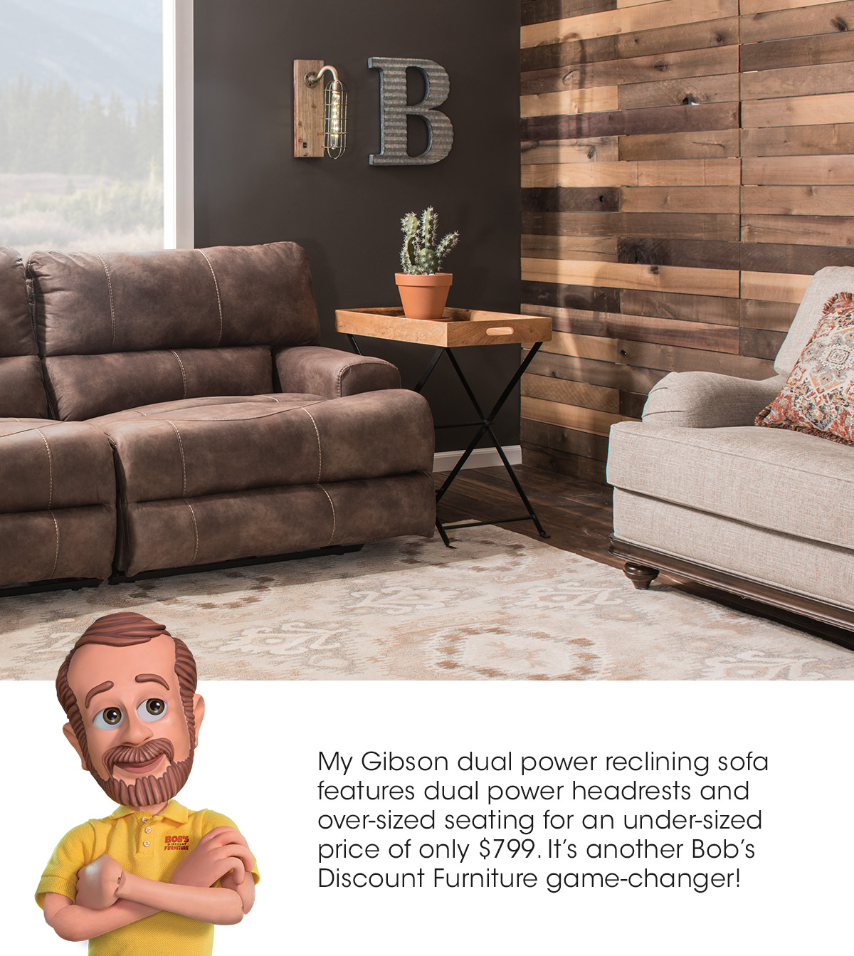Bobs Discount Furniture Update Your Home For The Big Game Milled