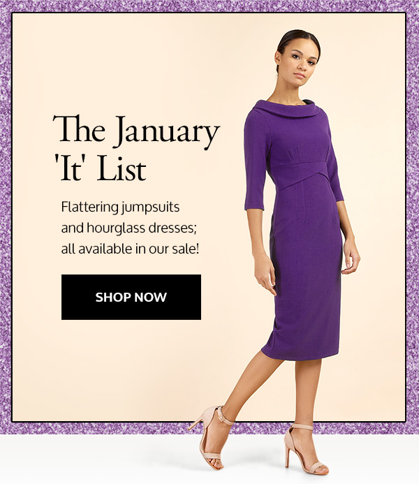 18361ee6ad6 Flattering jumpsuits and hourglass dresses; all available in our sale!