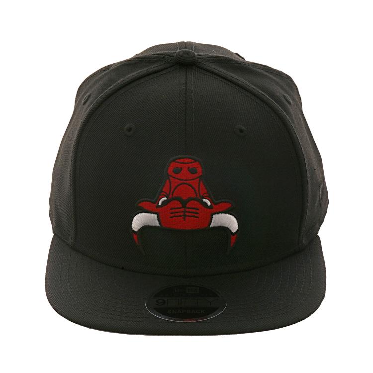 quality design 07b47 ddfb1 Exclusive New Era 9Fifty Chicago Bulls Upside Down Hat - Black