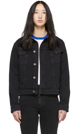 Calvin Klein Jeans Est. 1978 - Black Denim Trucker Jacket