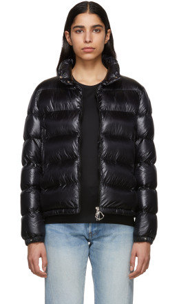 Moncler - Black Down Copenhagen Jacket