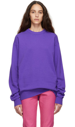 Calvin Klein Jeans Est. 1978 - Purple Wool Sweater