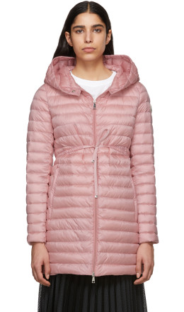 Moncler - Pink Down Barbel Jacket