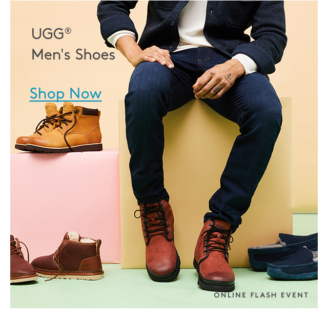 UGG® Men's Shoes | Shop Now | Online Flash Event