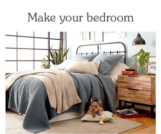 Shop bedroom furniture.