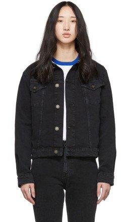 Calvin Klein Jeans Est. 1978 - Black Denim Trucker Jacket