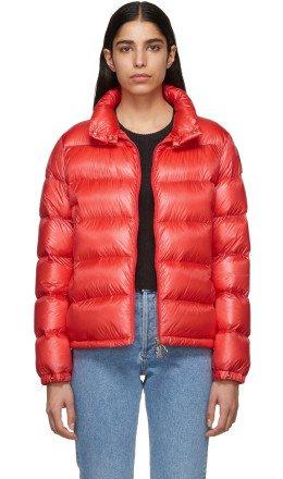 Moncler - Red Down Copenhagen Jacket