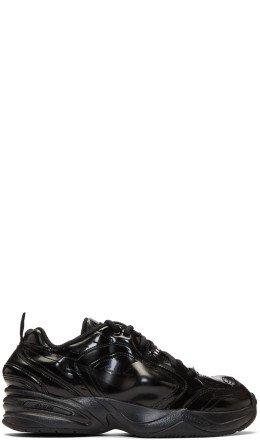 NikeLab - Black Martine Rose Edition Air Monarch IV Sneakers