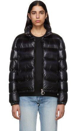Moncler - Black Down Copenhagen Jacket