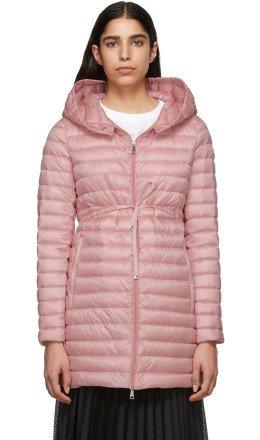 Moncler - Pink Down Barbel Jacket