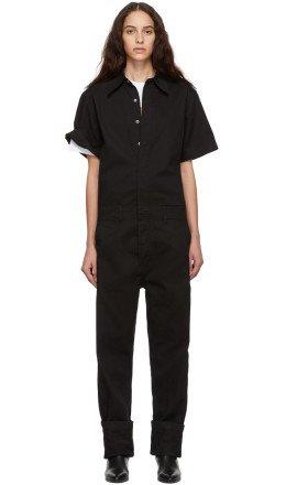 Calvin Klein Jeans Est. 1978 - Black Twill Coveralls