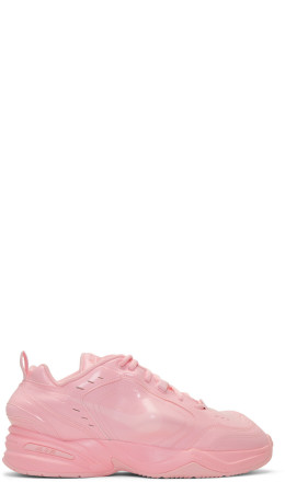 NikeLab - Pink Martine Rose Edition Air Monarch IV Sneakers