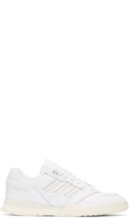 adidas Originals - White & Off-White AR Trainer Sneakers