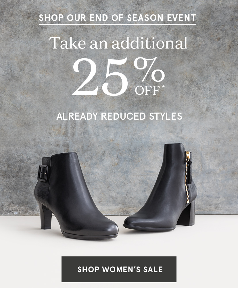 Take an additional 25% off!