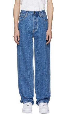 Calvin Klein Jeans Est. 1978 - Blue Baggy Jeans