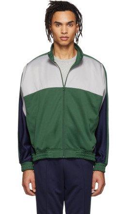 NikeLab - Green & Grey Martine Rose Edition NRG Track Jacket