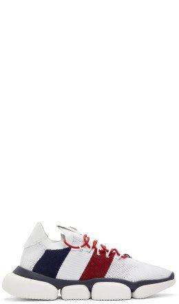Moncler - White Bubble Sneakers