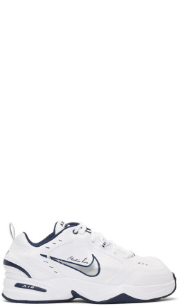 NikeLab - White Martine Rose Edition Air Monarch IV Sneakers