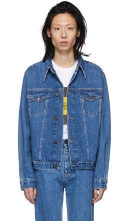Calvin Klein Jeans Est. 1978 - Blue Denim Trucker Jacket