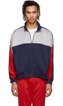 NikeLab - Blue & Grey Martine Rose Edition NRG Track Jacket