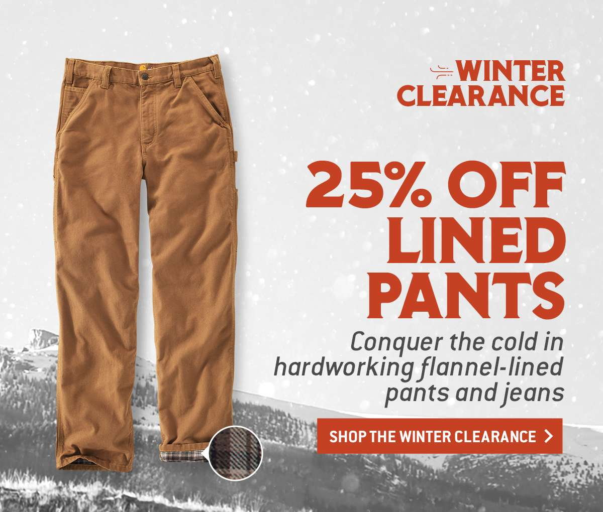 SHOP WINTER CLEARANCE