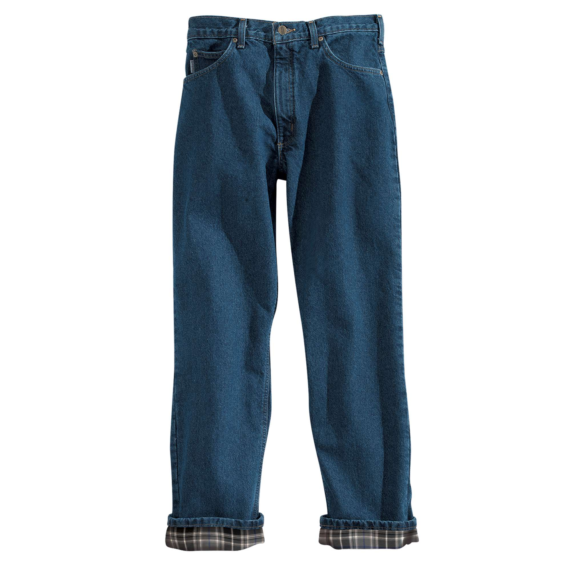 MEN'S RELAXED-FIT FLANNEL LINED JEAN
