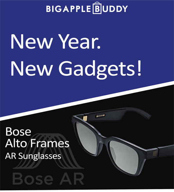03a93756a43 Big Apple Buddy: New Year. New Gadgets! | Milled