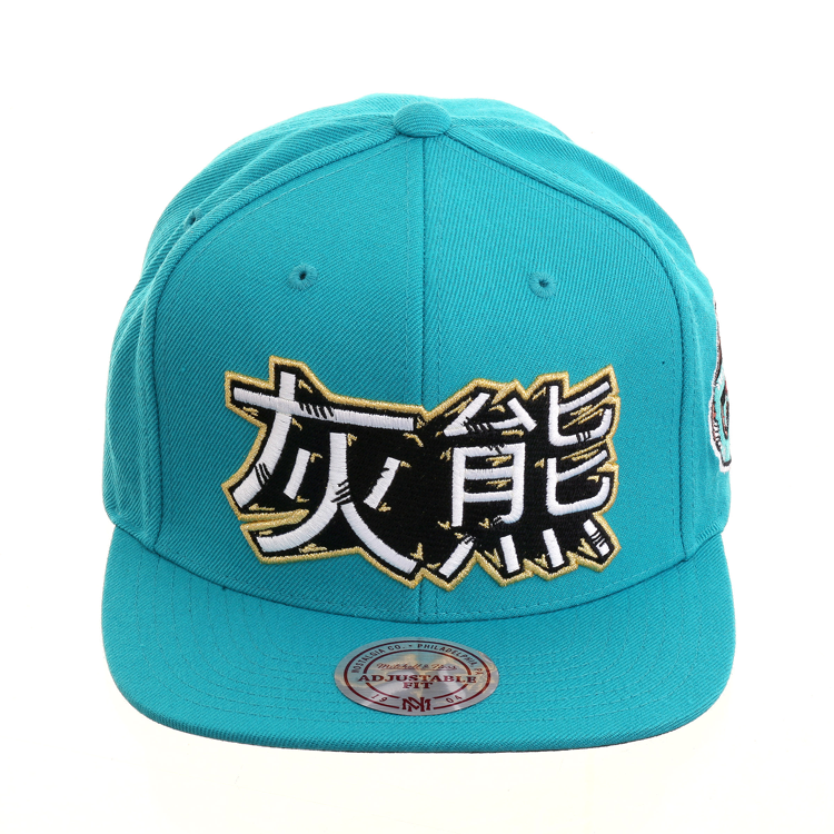 9602fec71df Mitchell   Ness Chinese New Years Memphis Grizzlies Snapback - Teal