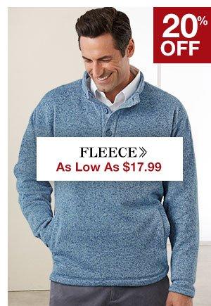 Shop Men's Fleece!