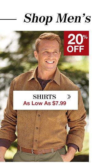 Shop Mens's Shirts!