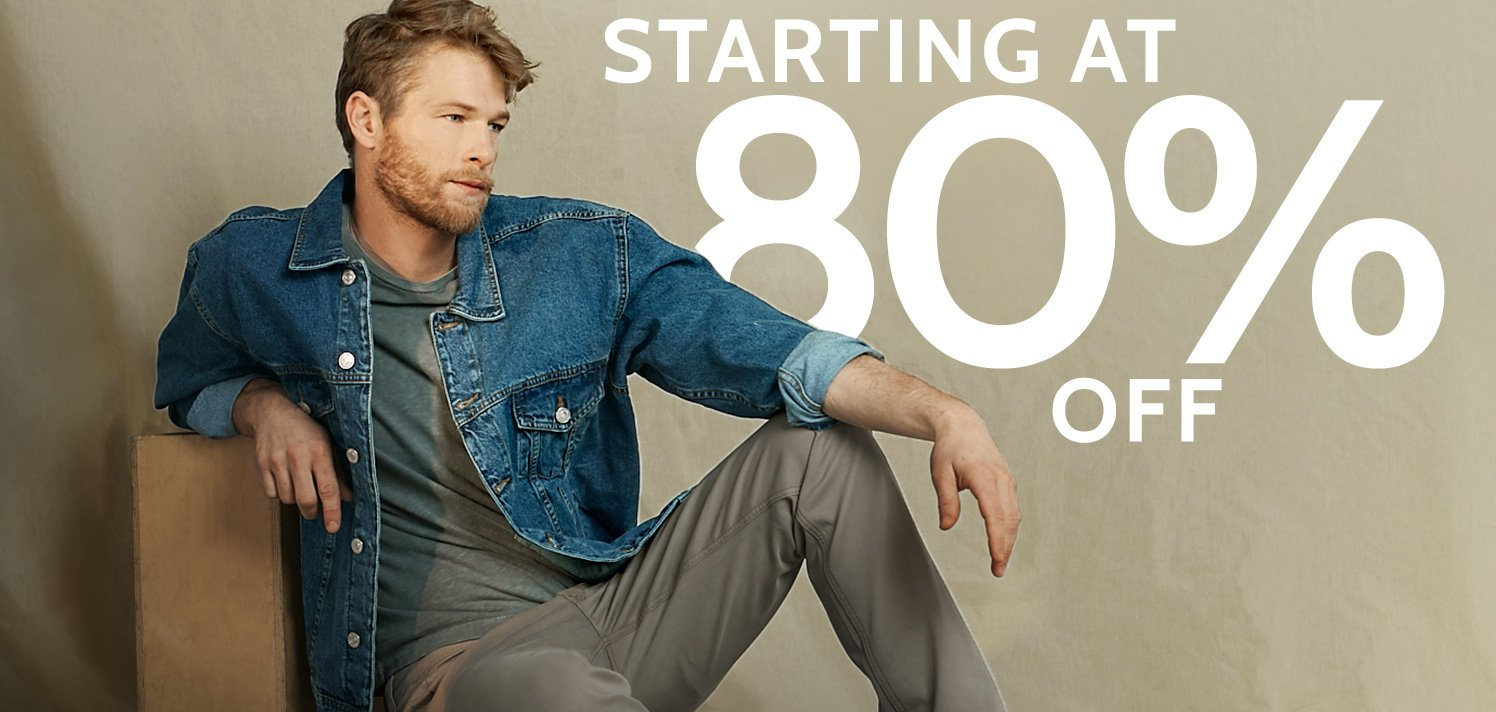 End-of-the-Month Sale for Men