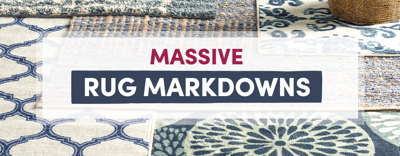 Rugs Sale ends 2/5 9am