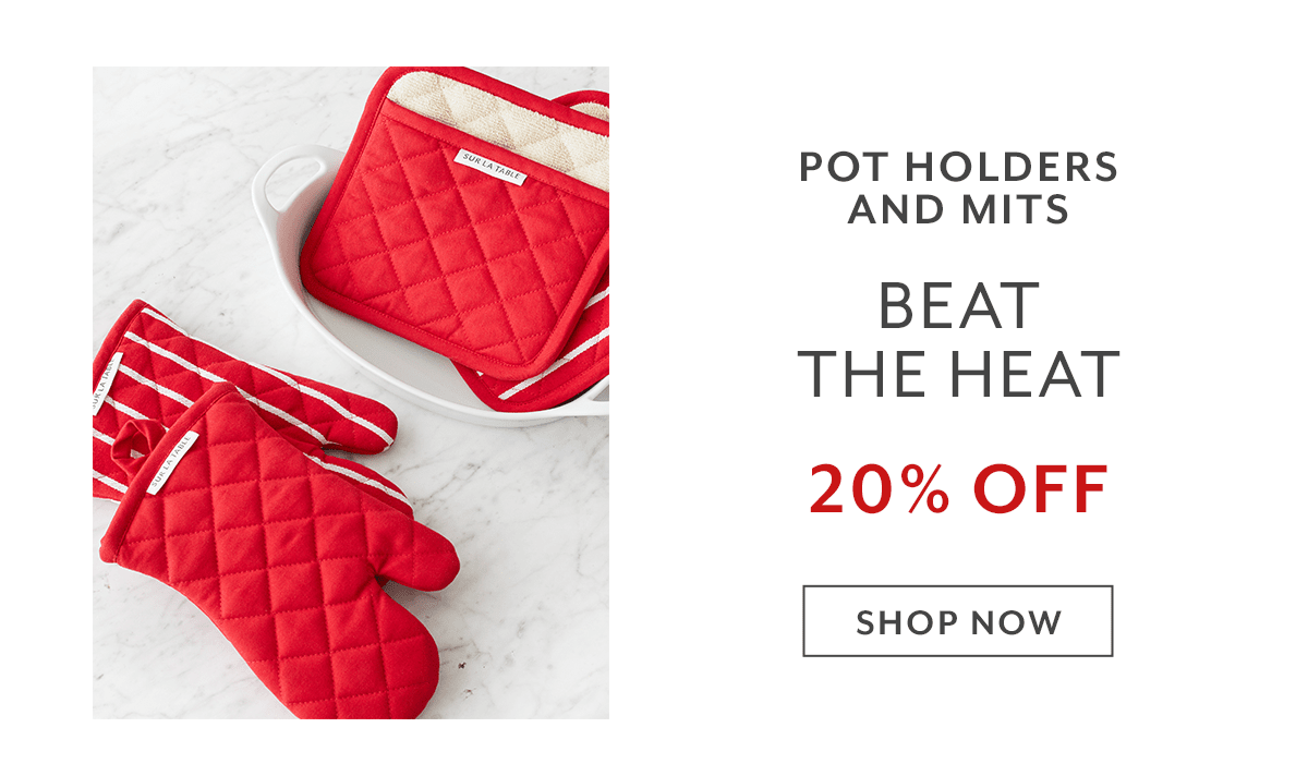 Pot Holders & Mitts