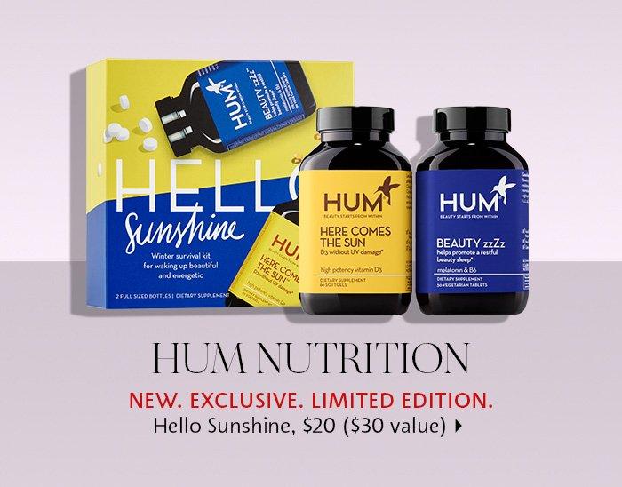 HUM Nutrition Hello Sunshine