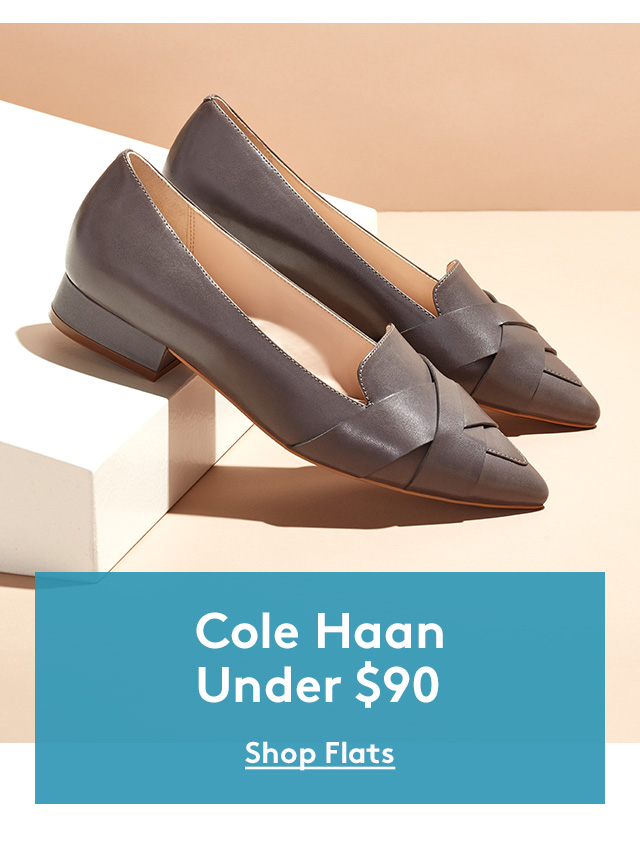 Cole Haan Under $90 | Shop Flats