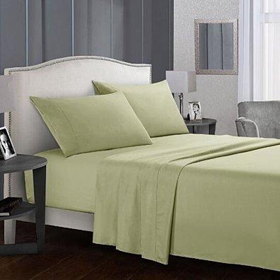 Wrinkle Free 4PC Bed Sheet Set