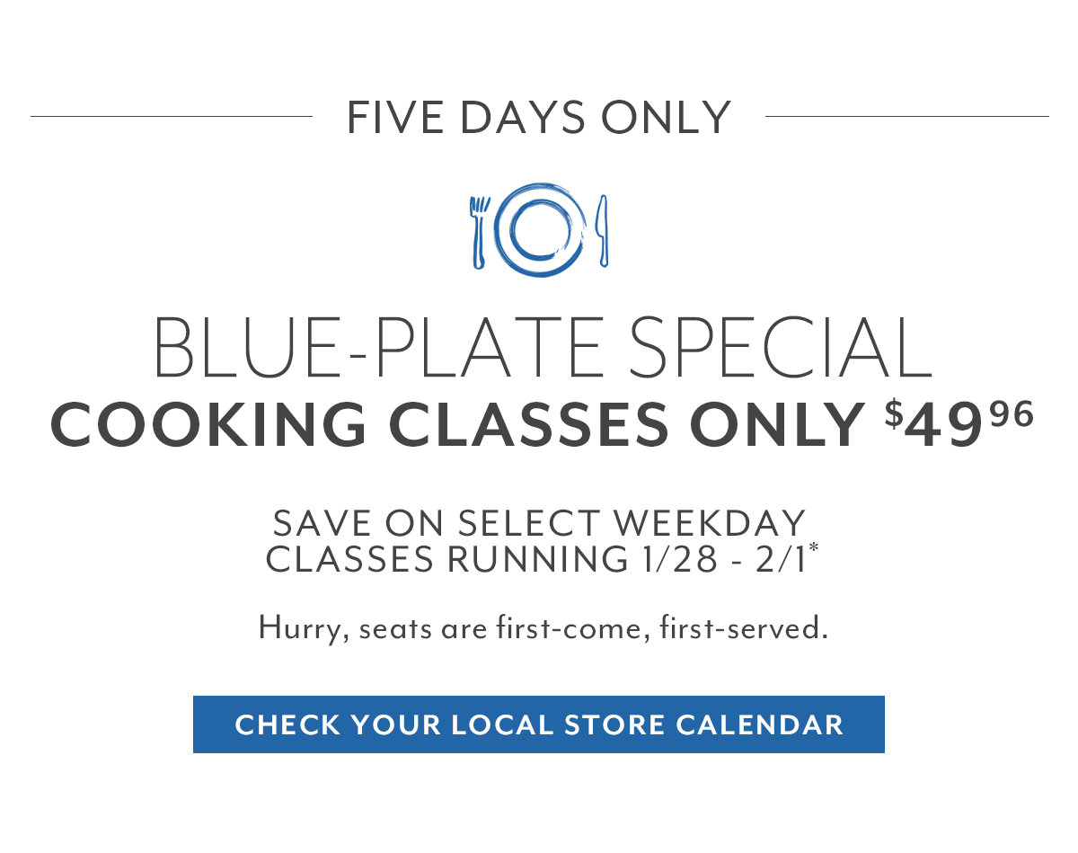 Blue-Plate Special