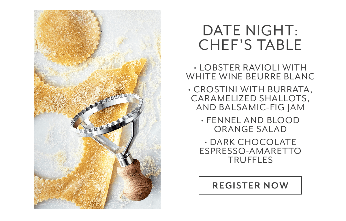 Class - Date Night • Chef's Table