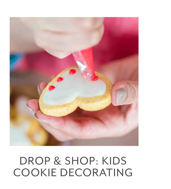 Class - Drop & Shop • Kids Cookie Decorating