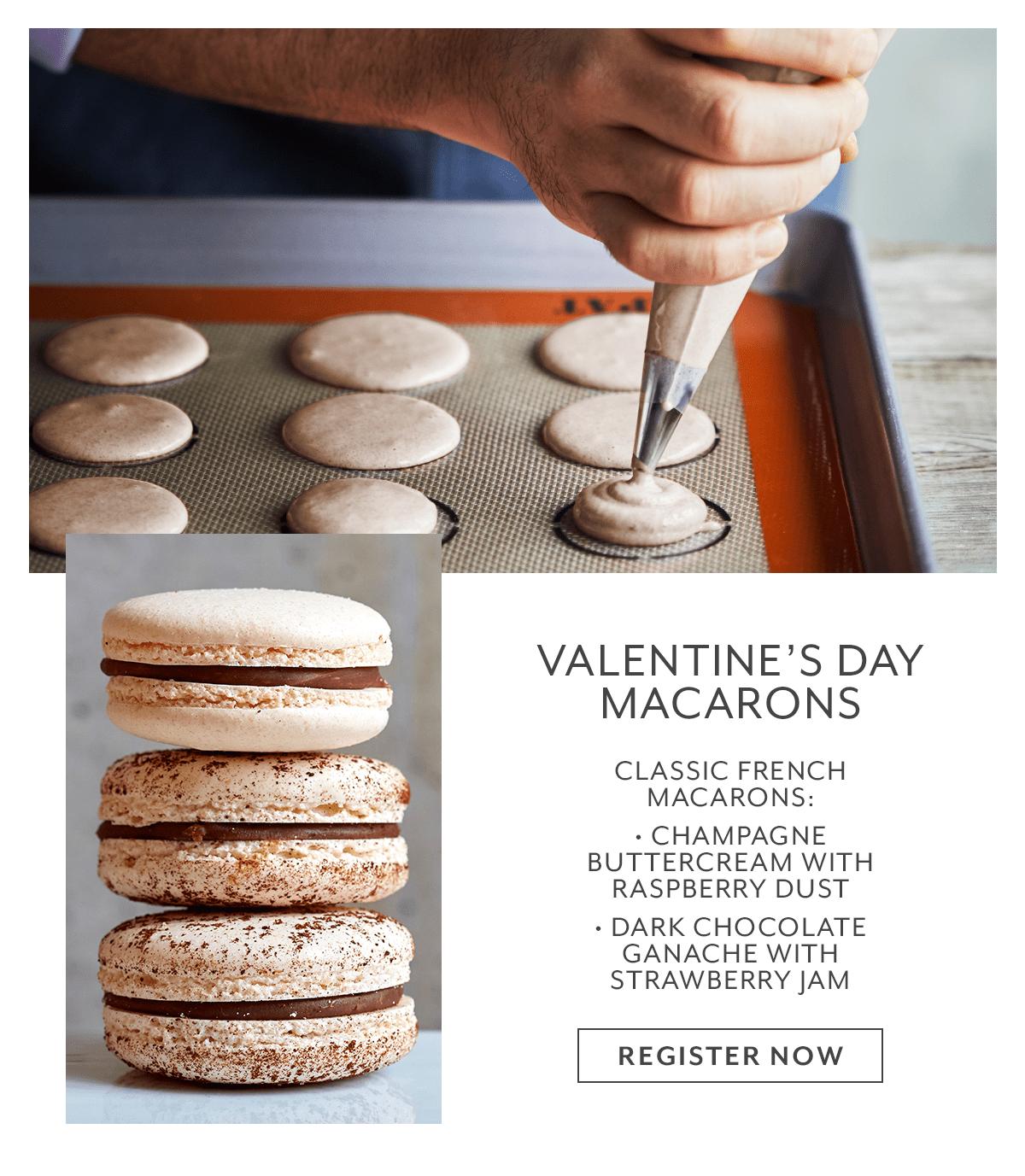 Class - Valentine's Day Macarons