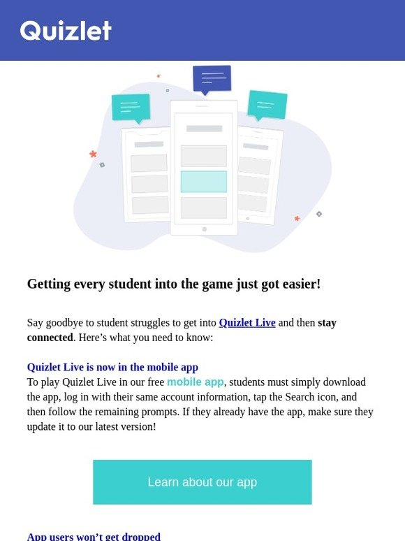 Quizlet Learn: New year, new updates for Quizlet Live