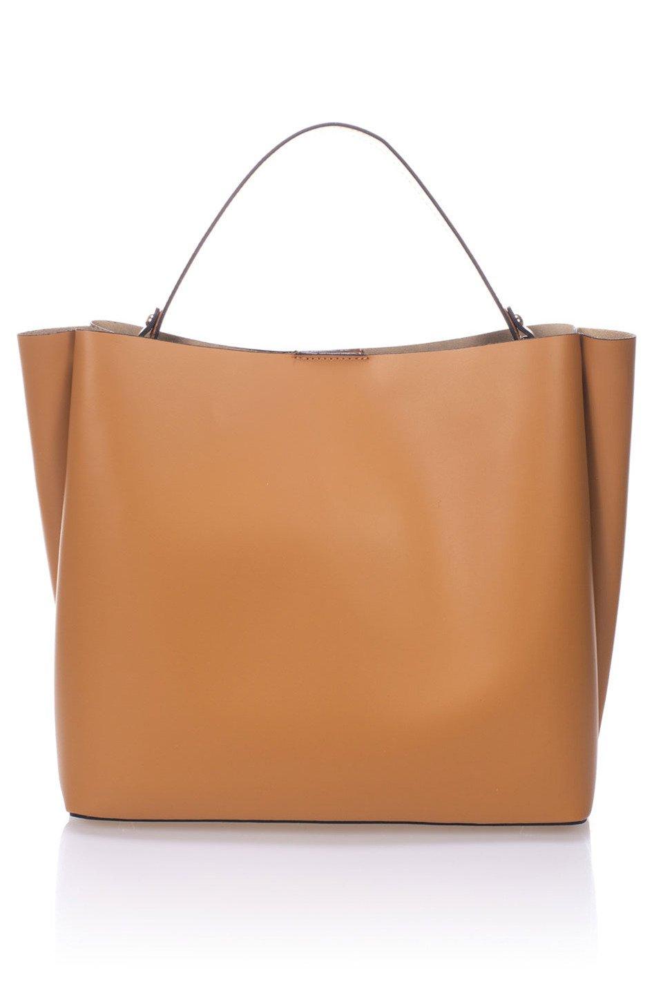 Caitlin Handbag in Cognac