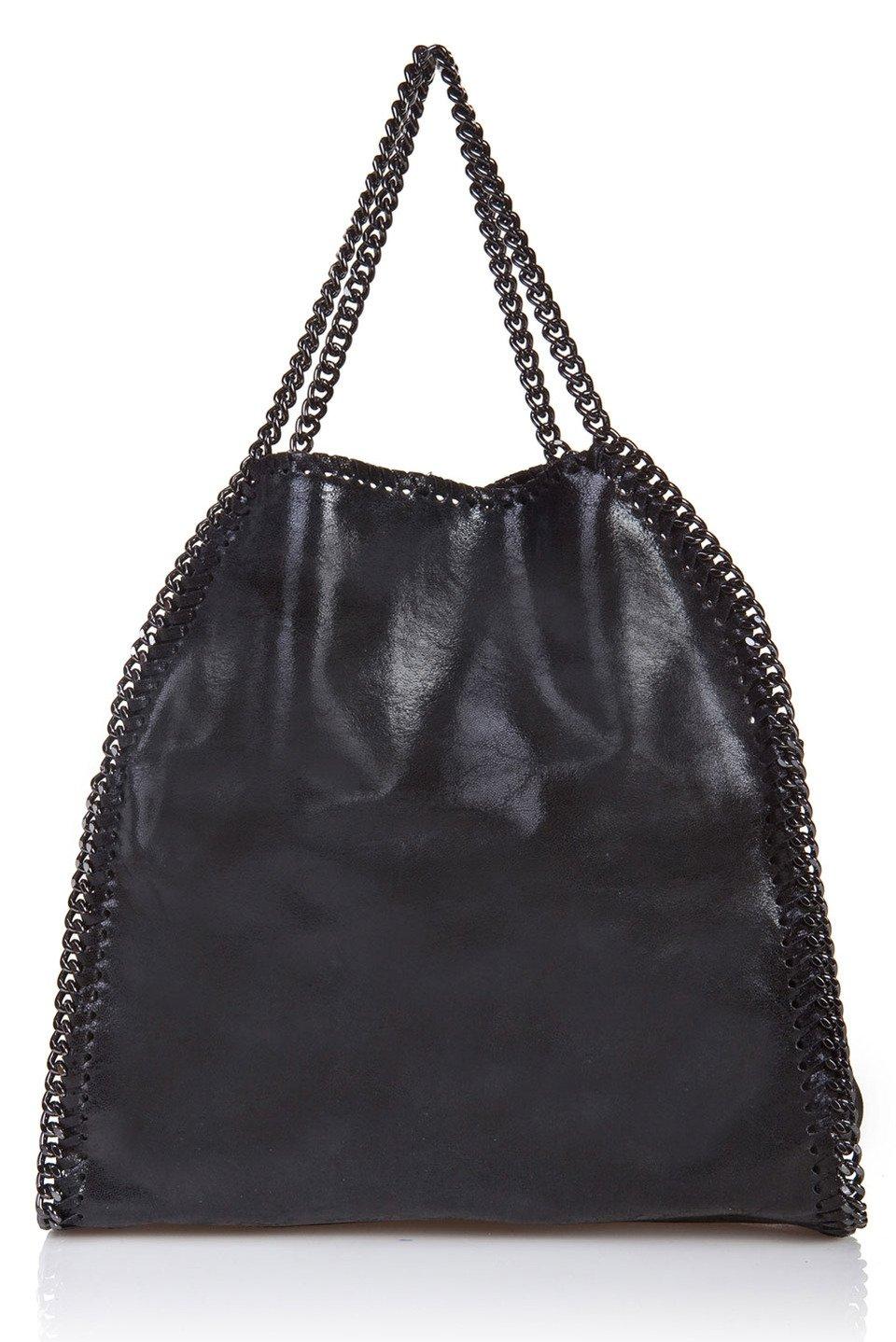 Josey Top Handle Bag in Black
