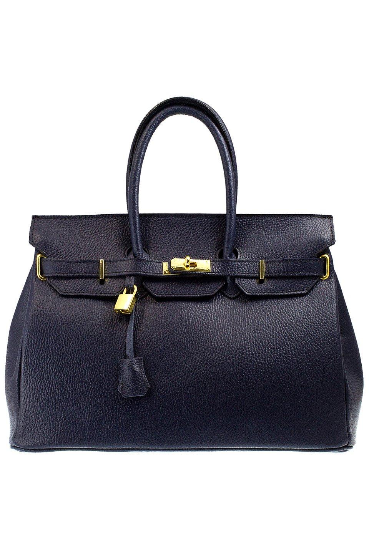 Cora Top Handle Bag in Blue