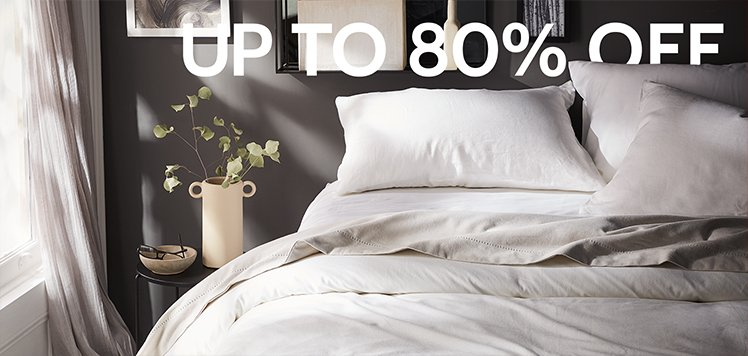 Great White Sale: Bedding Edition