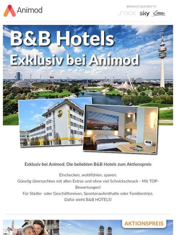 Animod De Exklusiv Bei Animod B B Hotels Zum Aktionspreis