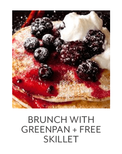 Brunch with GreenPan + Free 8-inch Skillet