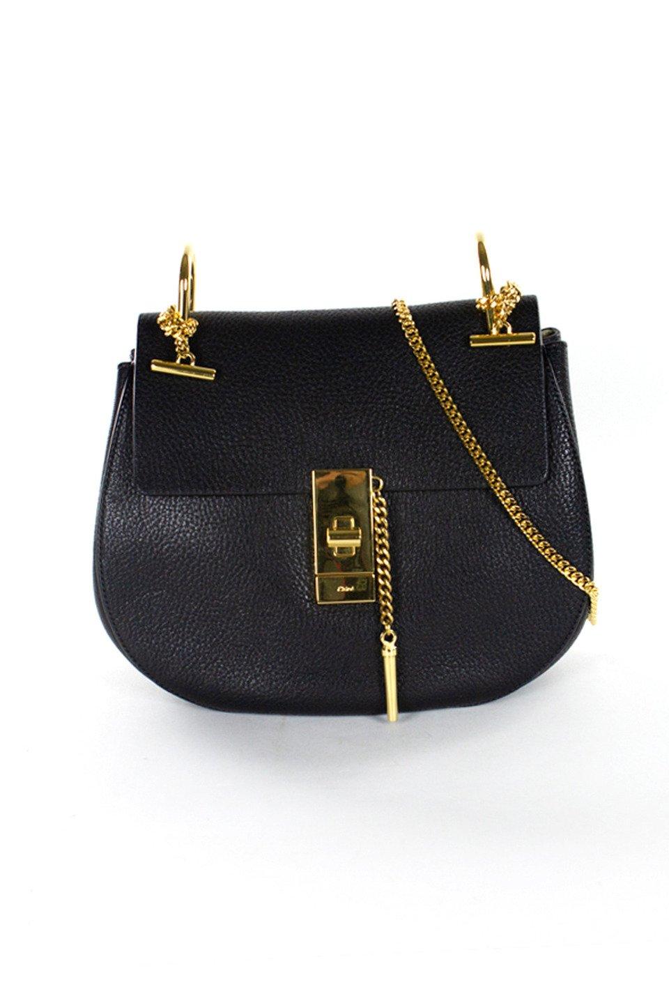 Chloe Leather Handbag in Black