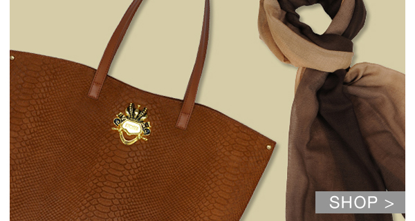 SYLVIO TOSSI BAGS, WALLETS AND SHAWLS